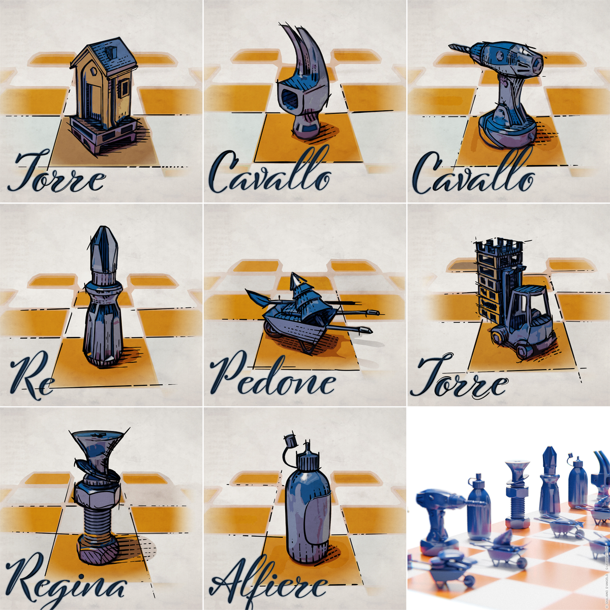 Chess diy